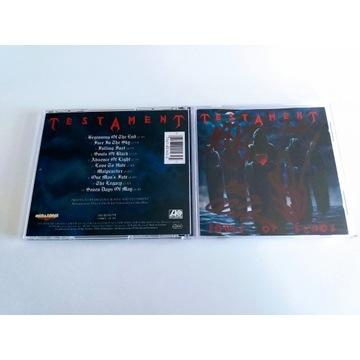 "TESTAMENT - ""Souls Of Black  CD"