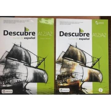 DESCUBRE 2-  zeszyt ćwiczeń i podręcznik z płytą !
