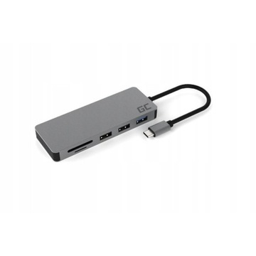 HUB Adapter przejściówka Green GC 7W1 USB HDMI