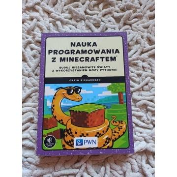 Nauka programowania z Minecraft książka dla dzieci