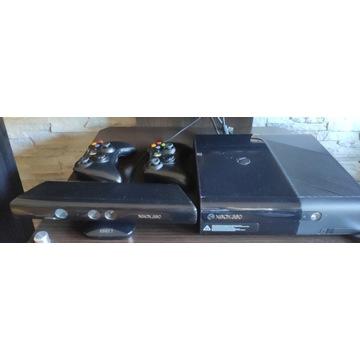 XBOX 360, 250GB, 2xPAD (oryg.), 11 GIER, KINECT