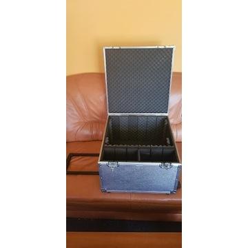 Walizka, Case, Skrzynia na kołach DJ 50x52x31,5cm