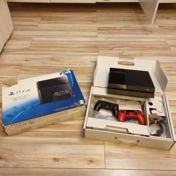 Playstation 4 1TB FAT 11 gier, 1 wł., 2 pady.