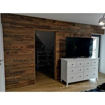 Stare drewno PIĘKNE deski ścienne LOFT półki