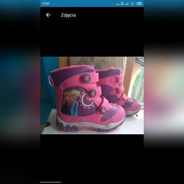 Nowe buciki dla dziewczynki Frozen 27