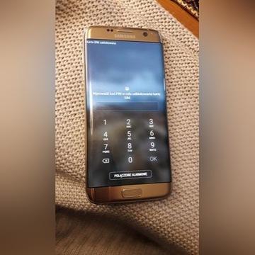 Używany Samsung S7 edge złoty