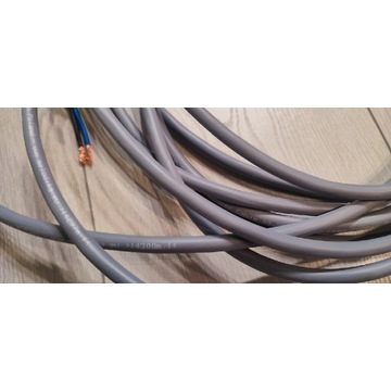 Kable Melodika, 2x4m Gunmetal MDC2250G 2 x 2,5 mm²