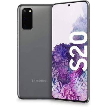 SAMSUNG GALAXY S20 Dual SIM Gray 128GB NOWY GW BCM