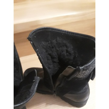 Buty kozaki śniegowce r 31 dziewczynka