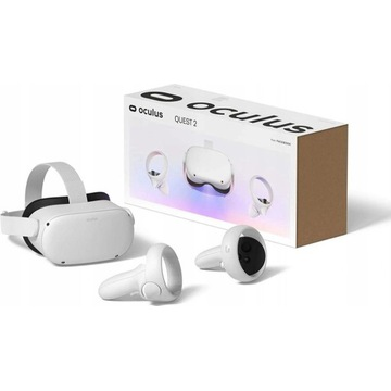 Oculus Quest 2 VR | 2 PADY + Kabel LINK (do PC)