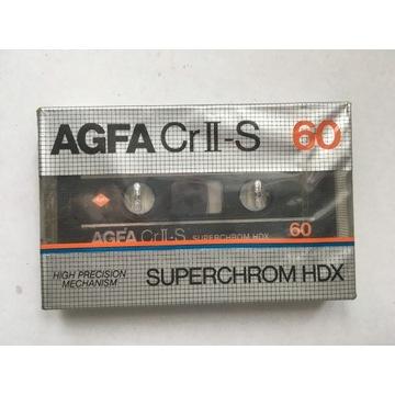 Kaseta magnetofonowa AGFA CR II-S 60