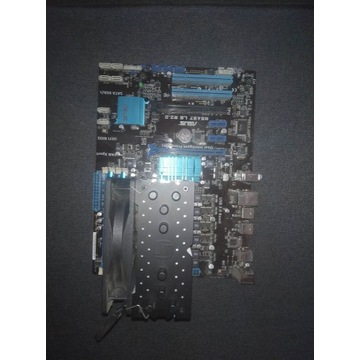 Zestaw karta graficzna, procesor, płyta główna RAM