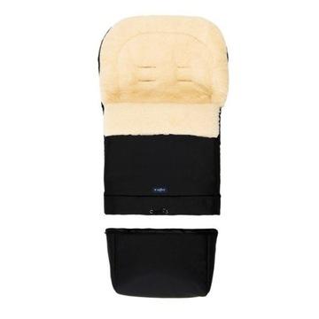 Śpiworek do wózka/nosidla/spacerówki wełna WOMAR
