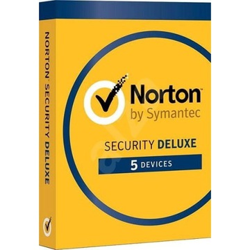 Norton Security Deluxe PL 180 DNI 5 PC