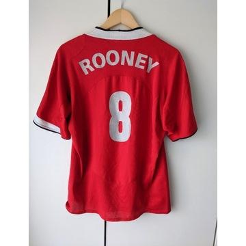Koszulka Manchester United Nike #8 W. Rooney - L