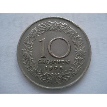 Austria 10 groszy 1925