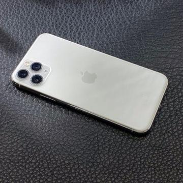 Telefon iPhone 11 Pro 64 GB srebrny / idealny