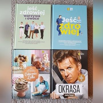 Książki LIDL Jeść zdrowiej