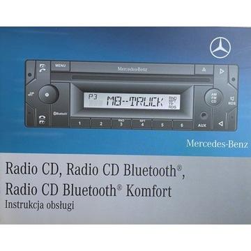 Instrukcja obsługi do radia Mercedes-Benz Truck
