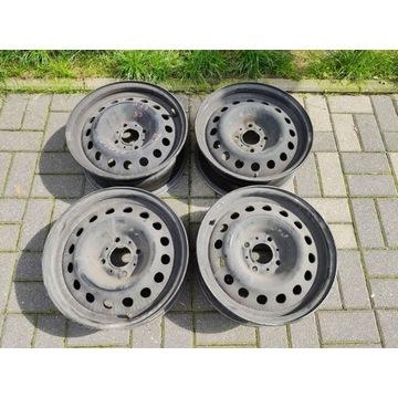 4 felgi aluminiowe Citroen C5 r15 ET18 4X108