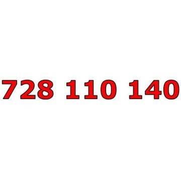 728 110 140 T-MOBILE ŁATWY ZŁOTY NUMER STARTER