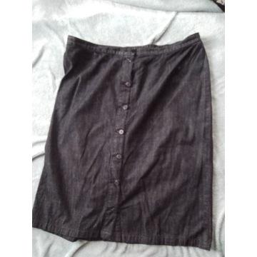 Spódnica  dżinsowa jeans Bonprix 48/50/52