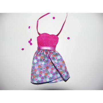 śliczna sukienka ubranko dla BARBIE  nowa