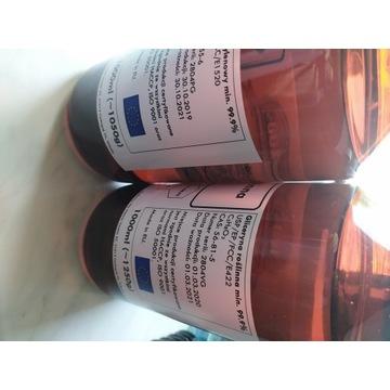 Gliceryna roślinna, glikol propylenowy