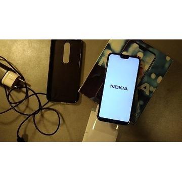 Nokia X6 6.1 Plus 4/64 czarny
