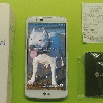 LG K10 Biały/nowa bateria/idealny