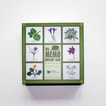 Piękne nowe Tatrzańskie memo - rośliny