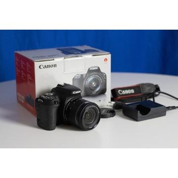 Lustrzanka cyfrowa Canon EOS 200D + 18-55mm STM