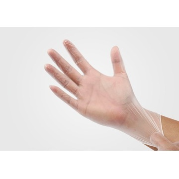 Rękawiczki ochronne rozmiar L - 100 szt.