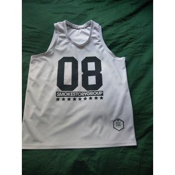 Koszulka Tank Top SSG Basketball Biały XL