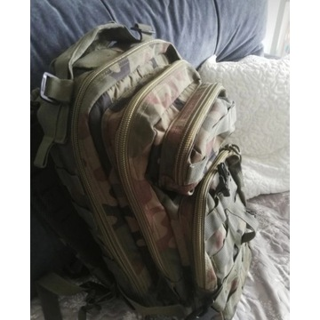 Plecak wojskowy moro