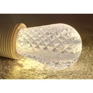 żarówka LED E27 akryl do girland 1W