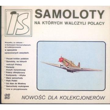 Samoloty na których walczyli Polacy album IS