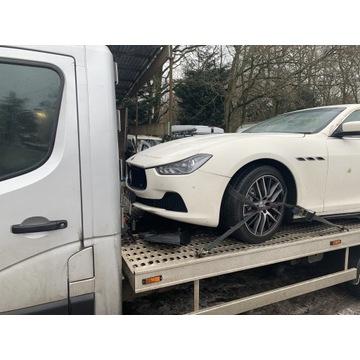 Maserati ghibli Anglik w całości sprzedam