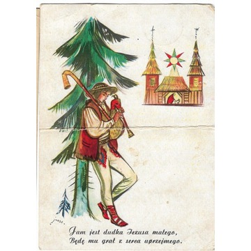 Karta pocztowa z 1958 roku