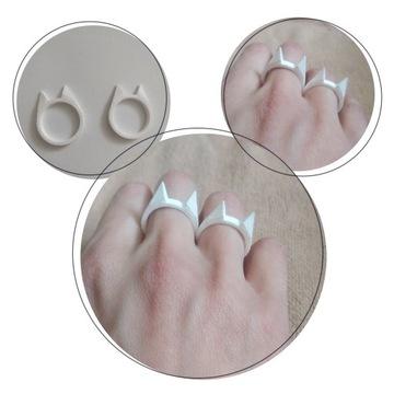 Pierścień kot KUBOTAN legalny pierścionek obrączka