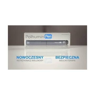 Wstrzykiwacz Polhumin Pen, GWARANCJA +gratisy