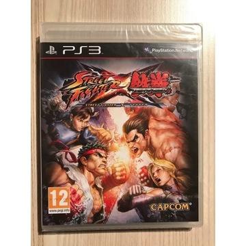 Street Fighter x Tekken PS3 Nowa FOLIA Premierowa