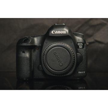Canon 5D mark III + Grip + Pierwszy włściciel