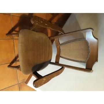 Krzesła drewniane 2 sztuki