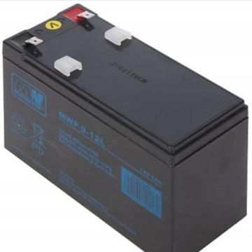 Akumulator MWP 9-12L 12V 9Ah UPS
