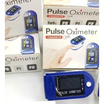 Pulsometr medyczny oximeter napalcowy pulsoksymetr