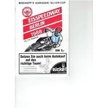 Półfinał DMS na lodzie 1988 r Berlin