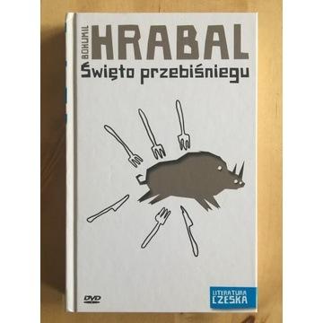 Hrabal Święto przebiśniegu (+DVD) Szczygieł Czechy
