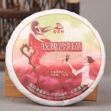 Klasyczny Shu Puerh z Róża