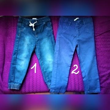 Spodnie rozm. 92